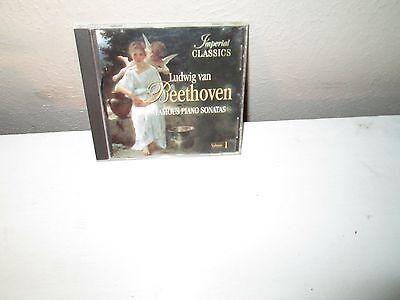 LUDWIG VAN BEETHOVEN - FAMOUS PIANO SONATAS Volume 1 rare cd Spring Kreutzer