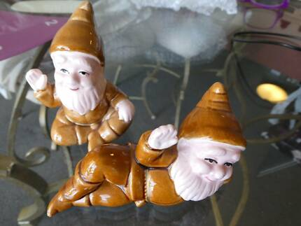 Cute Collector Gnome Salt and Pepper Shakers