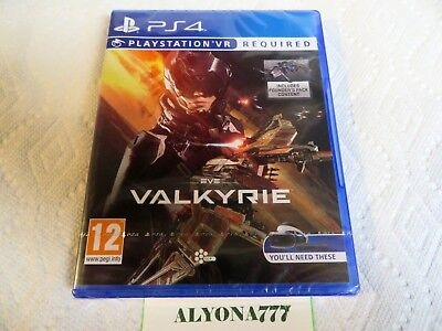 EVE: Valkyrie PS4 VR Game EU Ver. --REGION FREE-- Stackable Trophies *BRAND NEW*