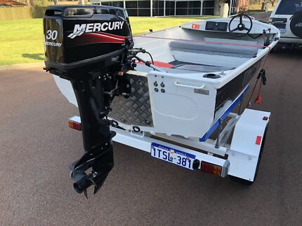 Aluminium Dingey near new 30 hp