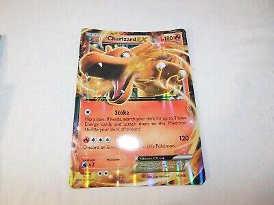 Pokemon Charizard EX 11/106 Stoke Fire Blast Hologram Card 2014