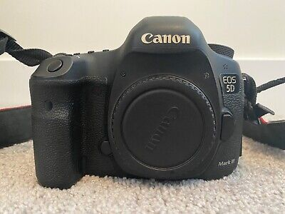 Canon EOS 5D Mark III 22.3MP Digital SLR Camera -Body, Charger, Memory & Battery