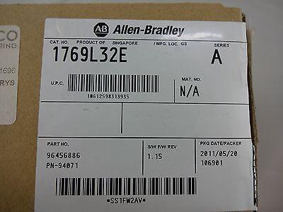 Ivs75 Allen Bradley 1794-l32e Compactlogix Processor Firmware 1.15 New