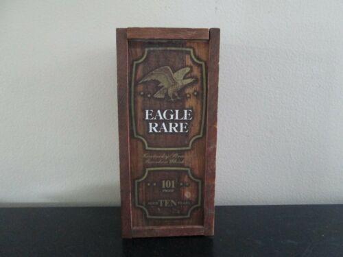 Vintage Eagle Rare Kentucky Straight Bourbon Whiskey 101 Proof Empty Wood Box