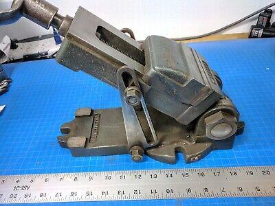 Vintage Palmgren 2bb-56 Tilting Tilt Angle Drill Bench Vise 4-14 Inch Jaws