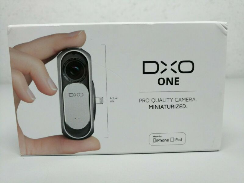DxO CAM01-01-WRU ONE Digital Camera 20.2MP For iPhone, Unused, Free Ship!!