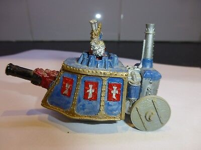 WARHAMMER  IMPERIAL STEAM TANK  PAINTED