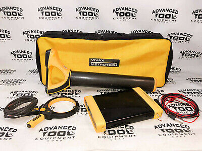 Vivax Metrotech Vlocpro2 Pipe Cable Utility Locator Transmitter Vx205-2 Clamp
