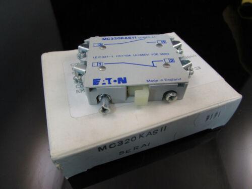 MC320KAS11 EATON CORPORATION CUTLER HAMMER AUXILIARY BLOCK ADD-ON