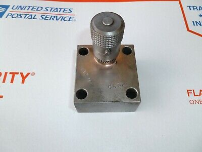 Parker Ns400s Hydraulic Flow Control Needle Valve