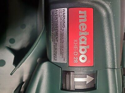 Metabo Khe-d 2 Amazing Drill Not Much Or Cant Handle.