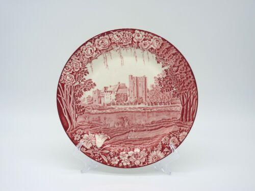 Enoch Woods Castles Woods & Sons England Antique Transferware Plate