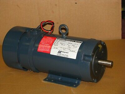 Magnetek 1.5 Hp Dc Permanent Magnet Motor D080 1750 Rpm 180v Tefc 143tc145tc