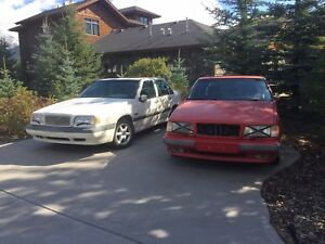 93 and 96 Volvo 850