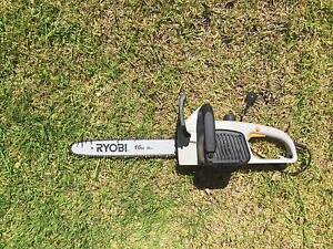 Ryobi Electric Chainsaw, almost new Bexley North Rockdale Area Preview