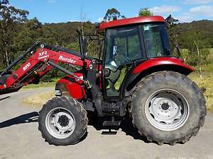 CASE IH JX70 CAB (LOW HRS) with BURDER 8030 FRONT END LOADER Forrest Colac-Otway Area Preview