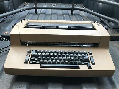 Vintage Ibm Correcting Selectric Ii Electric Typewriter Needs Work