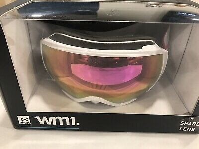 88c5e3a30ac8 New Anon WM1 Pearl White frame Goggles w  Sonar Pink by Zeiss lens + Bonus  Lens