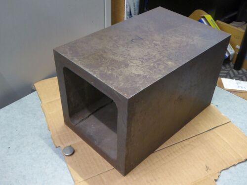 "8"" x 8"" x 12.5"" Carr Lane Machinist Box Mill Set-Up Ground Parallel Riser Block"