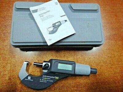 Brown Sharpe 599-125rs Digital Micromaster Micrometer Ip54 0-30mm 0-1.2 In