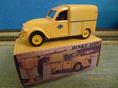 dinky atlas  2cv Camionnette Poste