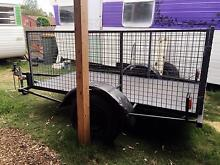 8x4 cage trailer for sale heavy duty GMV 1300kg. Seaford Frankston Area Preview