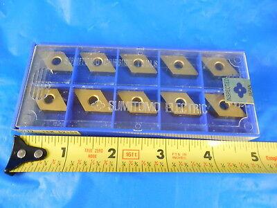 10 Pcs New Sumitomo Dnma 432 Ac105g Carbide Inserts Machine Shop Tooling Tools