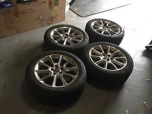 FORD MUSTANG CHROME ALLOY WHEELS (x4)