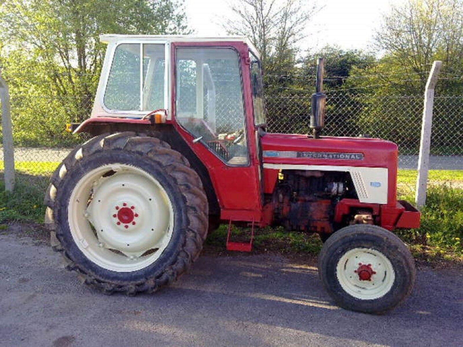 3 of 5 International Harvester Workshop Manual - 454 - 474 - 574 - & 674  Tractor 4 of 5 International ...