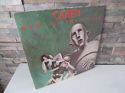 classic QUEEN : NEWS OF THE WORLD VINYL RECORD GATEFOLD EMA 784.