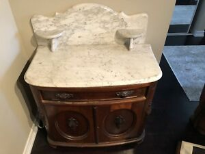 Antique Marble Wash Stand