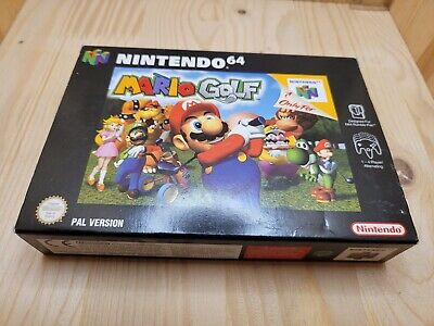 Mario Golf - N64 - 1999 - PAL Version - Complete in box. Very good condition.