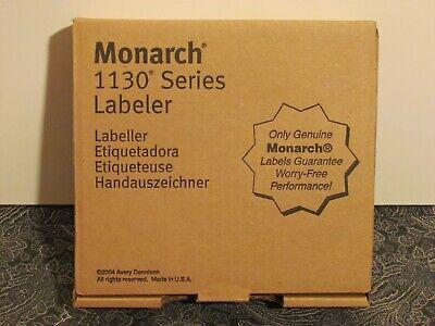Monarch 1136 Two Line Labeling Gun- Genuine Avery Dennison- Brand New In Box