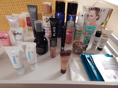 Makeup Skincare & Hair LOT Birchbox Etc Coola Benefit Philosophy Ipkn Amika 30+