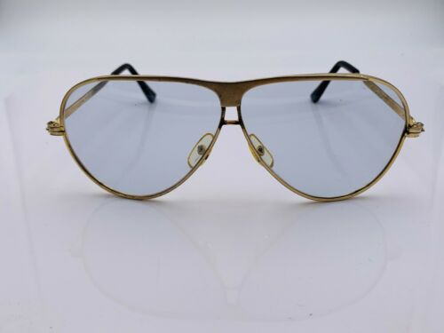 Vintage Foster Grant Gold Metal Aviator Sunglasses Frames Korea