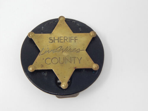 Sheriff Livewires County Badge