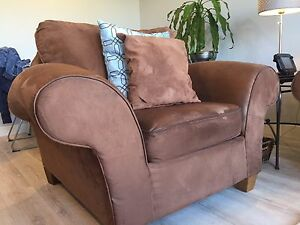Big Comfy Chair and Loveseat