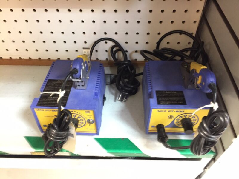 Hakko FT-800 Thermal Wire Stripper 120V 68W 60Hz W/out Tip