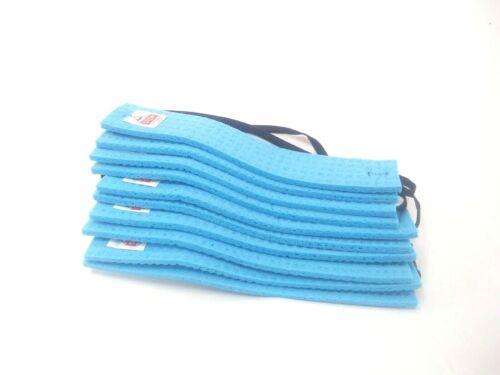 Condor 2AF07A Sweatband Blue Cellulose Sponge LOT OF 10