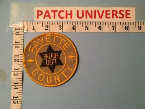 FAYETTE COUNTY TENNESSE SHERIFF  SHOULDER PATCH  N016