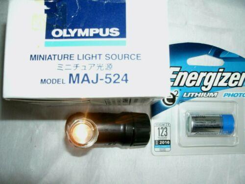 Olympus Endoscope miniature Light Source MAJ-524, battery included
