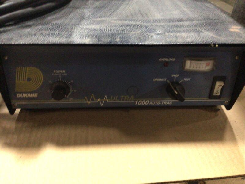 Dukane Ultrasonic Welder Model 220  W/ Ultra 1000 Auto-trac Controller #5375TAW
