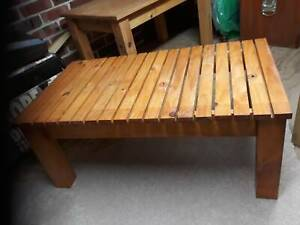 Coffee table pine slats West Pennant Hills The Hills District Preview