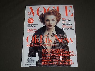 2004 NOVEMBER VOGUE MAGAZINE - JESSICA STAM COVER - JAPANESE EDITION - SP 4783