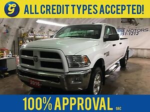 2016 Ram 2500 OUTDOORSMAN*4WD*CREWCAB*HEMI*SIDE STEPS*ALLOYS*RUG
