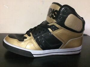 Osiris Black/Gold Shoes (Size 11)