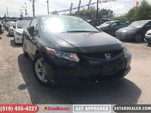 2012 Honda Civic LX | CAR LOANS APPROVED | APPLY NOW
