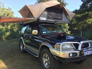 Mitsubishi Challenger Pajero sport 4x4 rooftop tent backpackers car Perth Perth City Area Preview