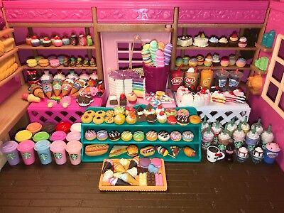 LOL Littlest Pet Shop *6 PC Accessory Lot* Random Accessories Food Starbucks ❤️