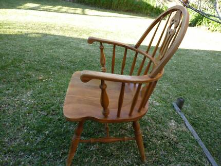 COUNTRY-STYLE DECORATIVE WOODEN ARMCHAIR Windermere Park Lake Macquarie Area Preview